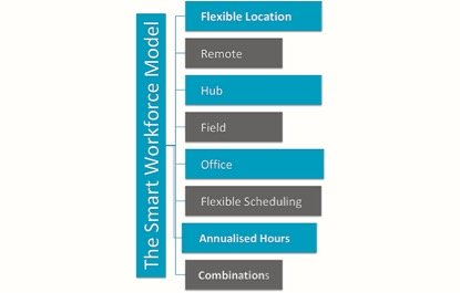 The SmartWorking Workforce Model
