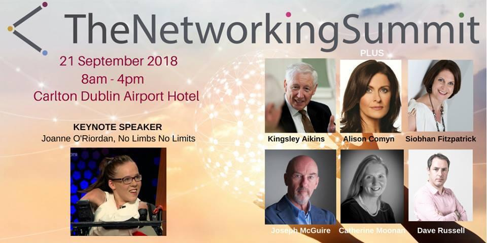 The Networking Summit – Dublin, 21 September 2018
