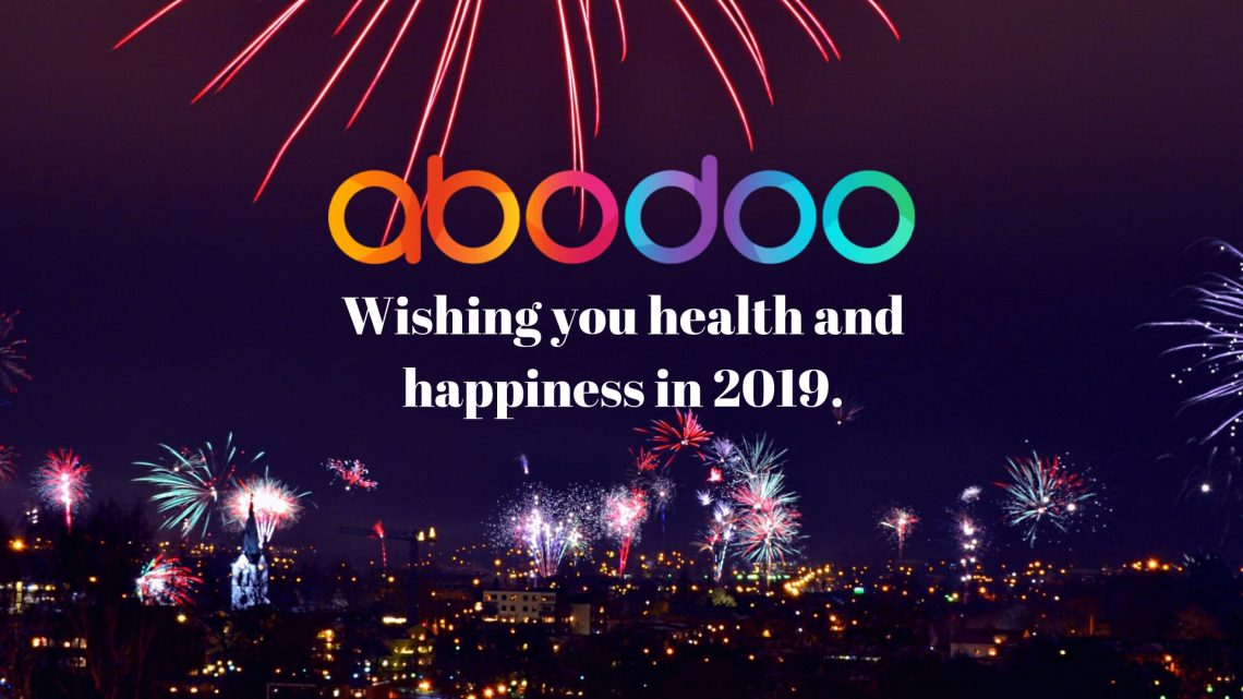 Happy New Year's From Team Abodoo