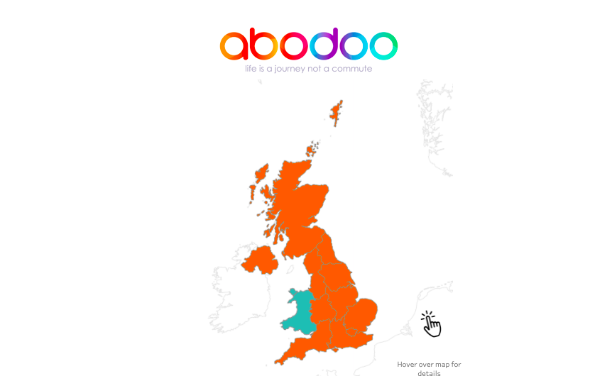 Where is the UK's Talent? Click on our interactive regional map below to find out!
