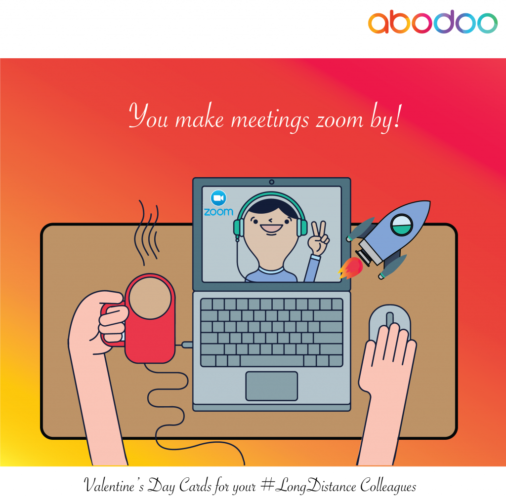 You make meetings zoom by!