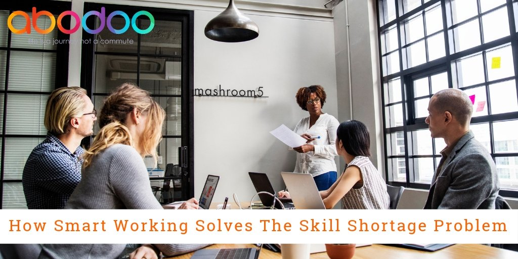 Skills Shortage Affecting Innovation – How SmartWorking Can Help