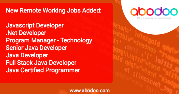 Latest Developer Roles