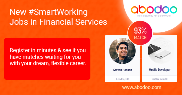 Latest Remote Working Finance Roles | Abodoo SmartWorking | Finance