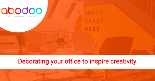 Decorating your office to inspire creativity