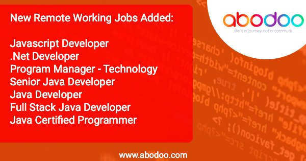 Latest Developer Roles