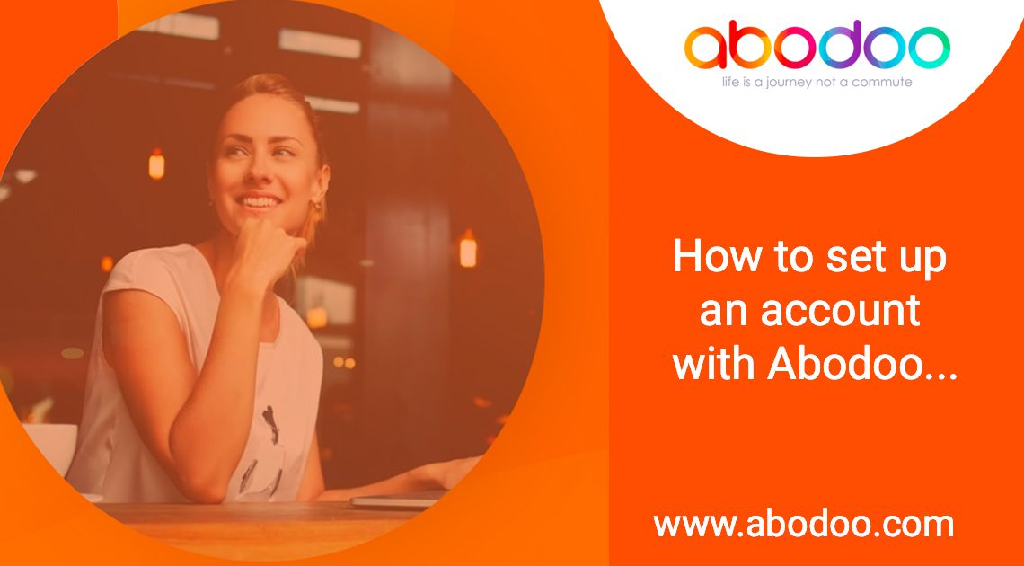 How to set up an account with Abodoo…